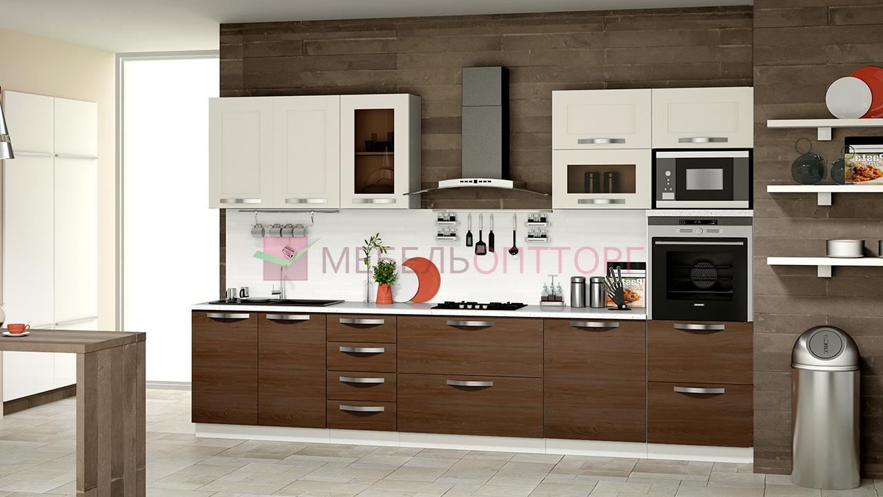 Кухонный гарнитур цвет капучино фото